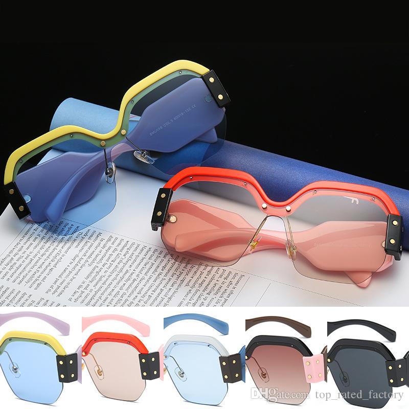 2cecd2296f Compre Gafas De Sol Cuadradas De Gran Tamaño Mujeres Moda Gradiente Lentes  Gafas De Sol Para Mujeres Marca Café Negro De Lujo Rosa Azul Sombras A  $5.56 Del ...