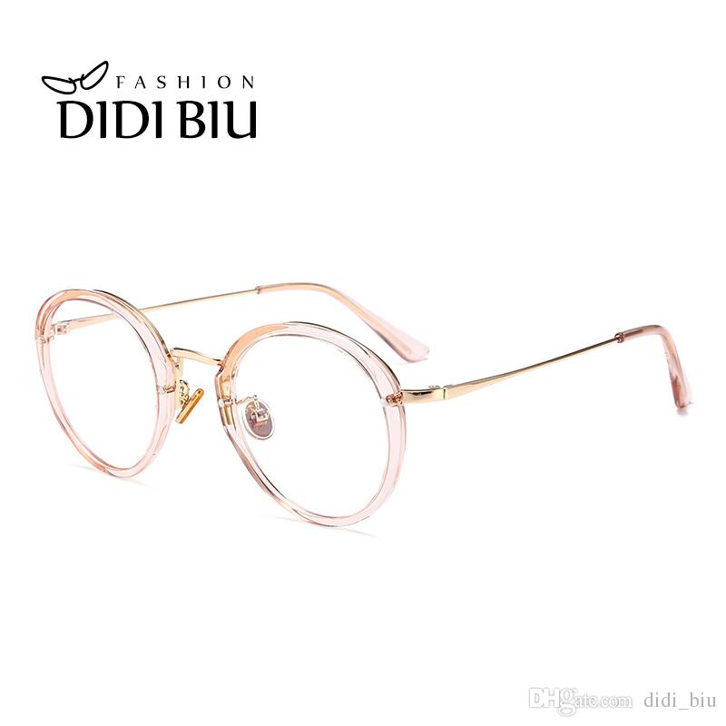 5b9f87352e0 Cheap Round Frame Spectacles Women Best Wholesale Round Reflectors