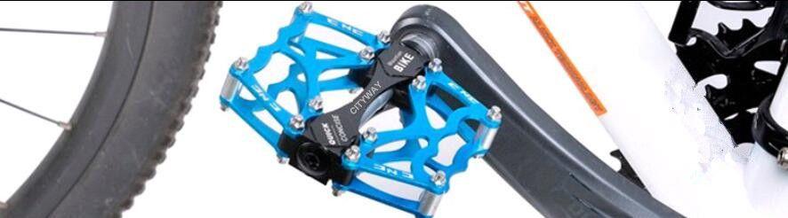 دراجات دراجة جبلية دراجة MTB دراجة Ultralight Pedals Aluminum Alloy Axle 9/16