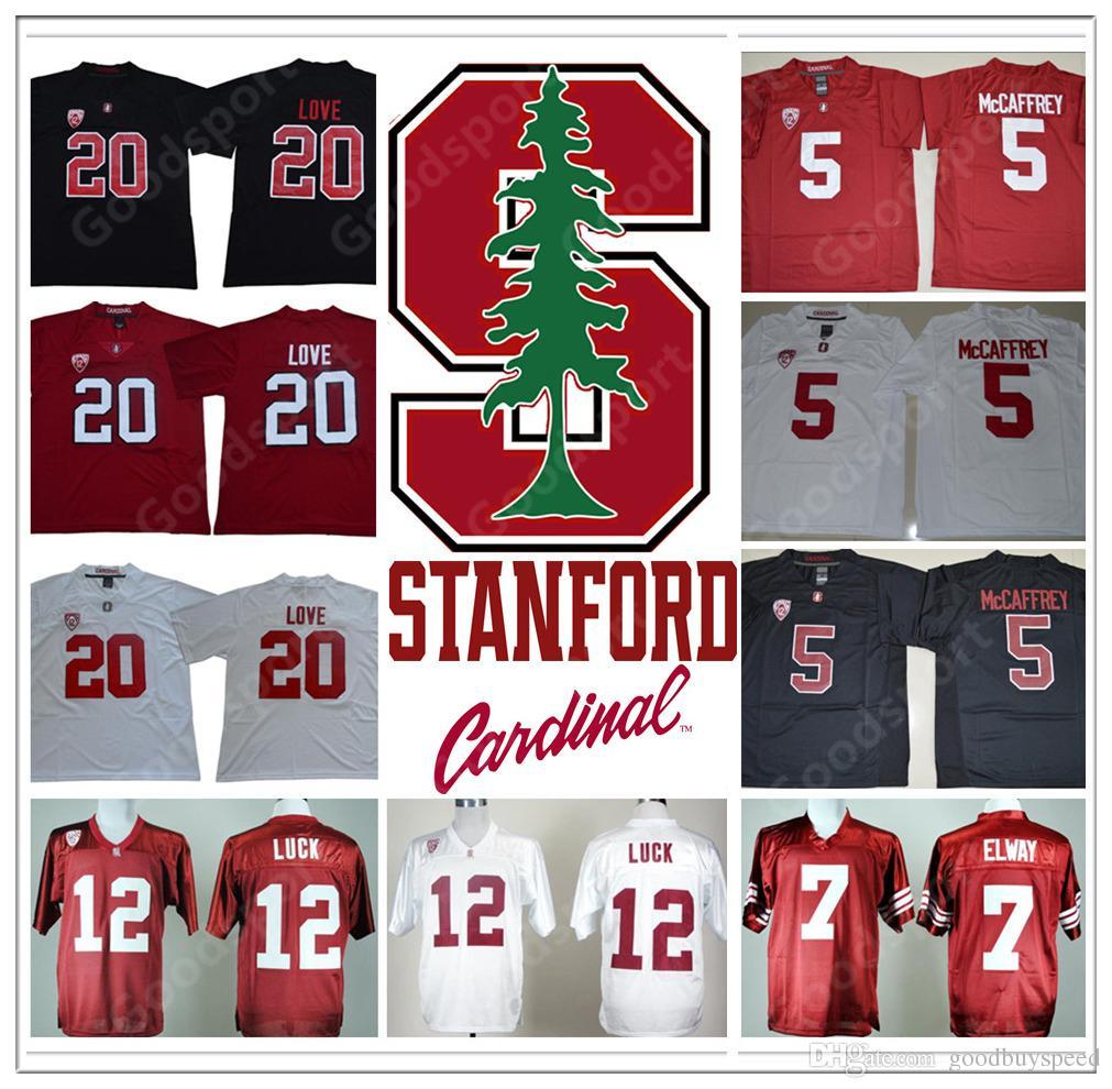 f9840de15 NCAA Stanford Christian McCaffrey 5 Andrew Luck 12 John Elway 7 ...