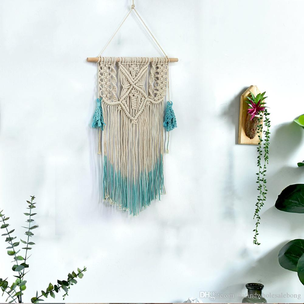 Boho Macrame Woven Wall Hanging Home Decor Wedding Backdrop