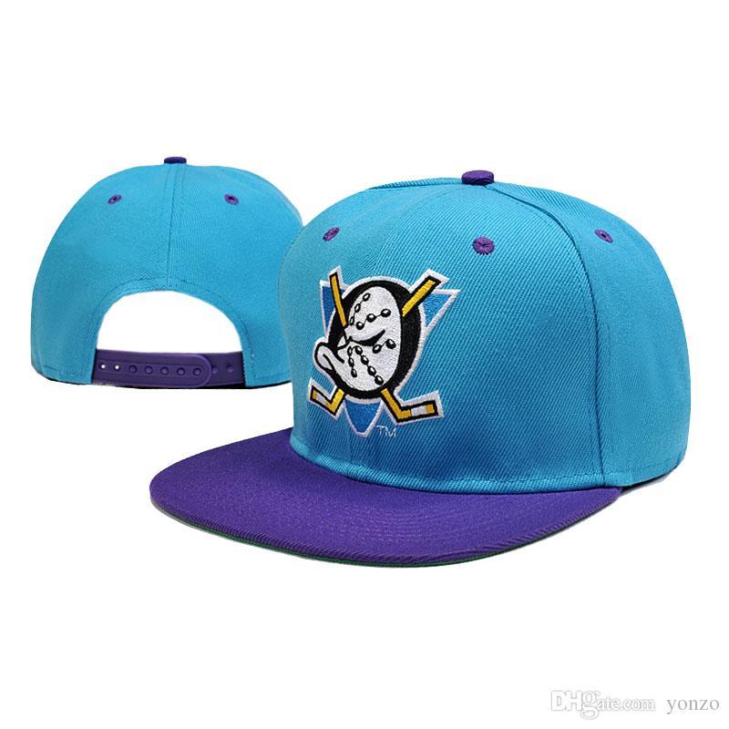 2018 New Fashion Mighty Ducks Hockey Cap Movie Sport Cap Curved Chapeau Dad  Hats Casquette Brand Snapback Hip Hop Bone Men Women UK 2019 From Yonzo 435d71e7d9f