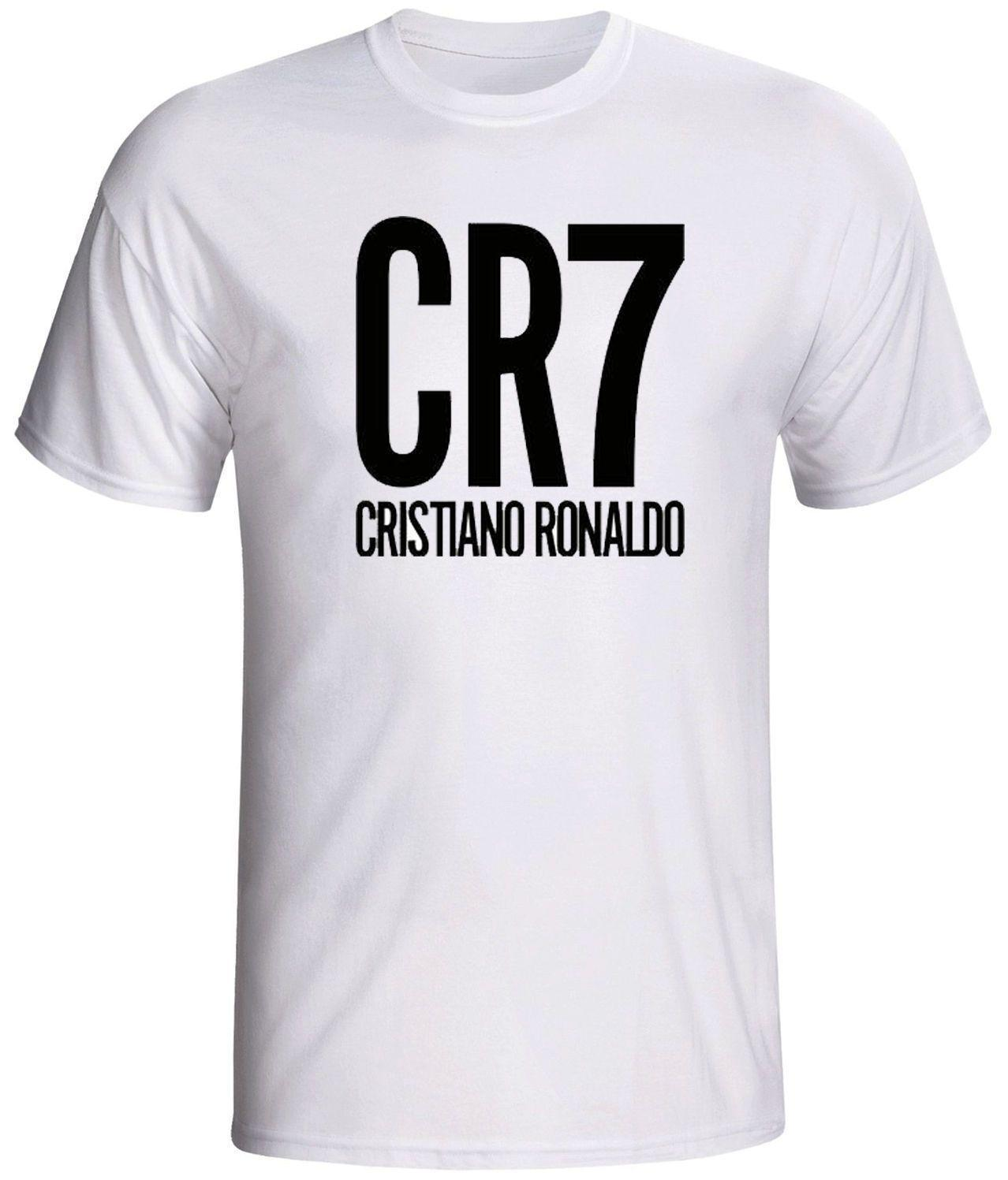 Compre Camisa Cristiano Ronaldo CR7 Fútbol Camiseta Cómoda Camiseta De  Manga Corta Casual 100% Algodón Manga Corta Camiseta Nueva Top Tees A   11.01 Del ... 2089adb48a75d