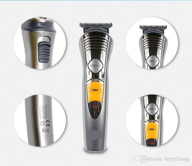 7 In 1 Professional Multinational Electric Hair Clipper Razor Shaver Man Grooming Kit Rechargeable Body Beard Hair Cutting Machine Trimmer