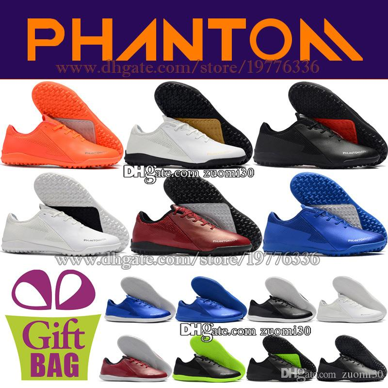063020b58 2019 Football Boots TF IC Soccer Shoes Phanton VSN Academy Vision Indoor  Low Soccer Cleats Turf Soccer Boots New Trainers Football Cleats 39 46 From  Zuomi30 ...