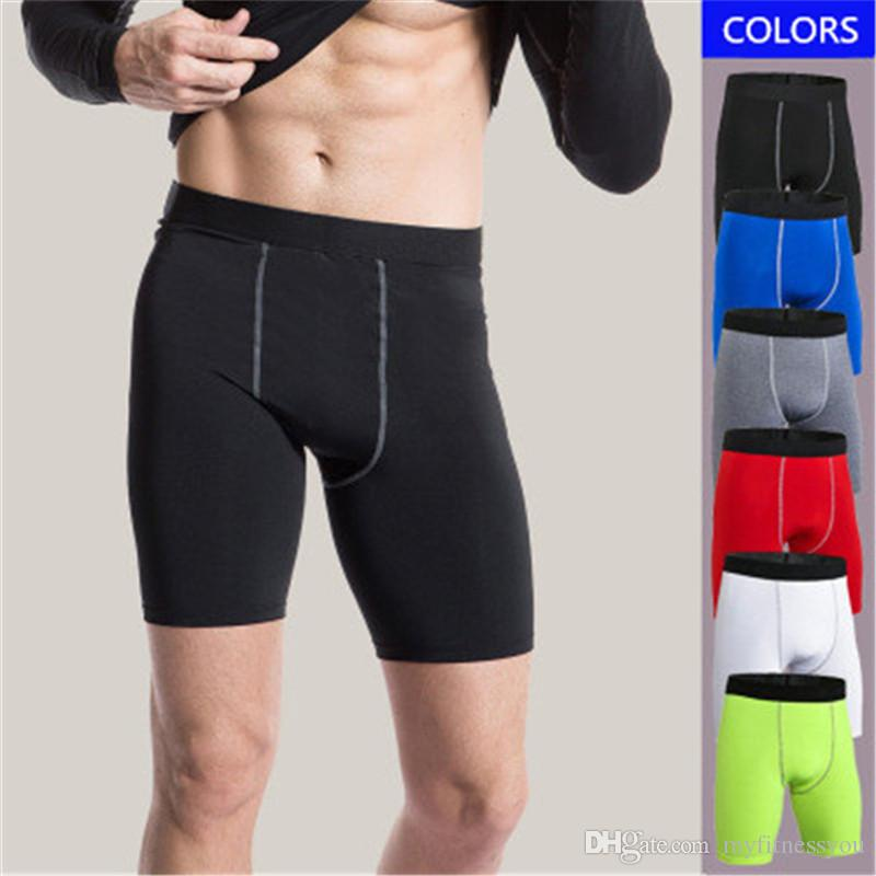 New Brand Running Shorts For Mens Fitness Gym Jogger Short Pant Quickly Dry  Compression Clothing Tight Wear Cycling Underwear Plus Size XXXL UK 2019  From ... 654368ab6bb5