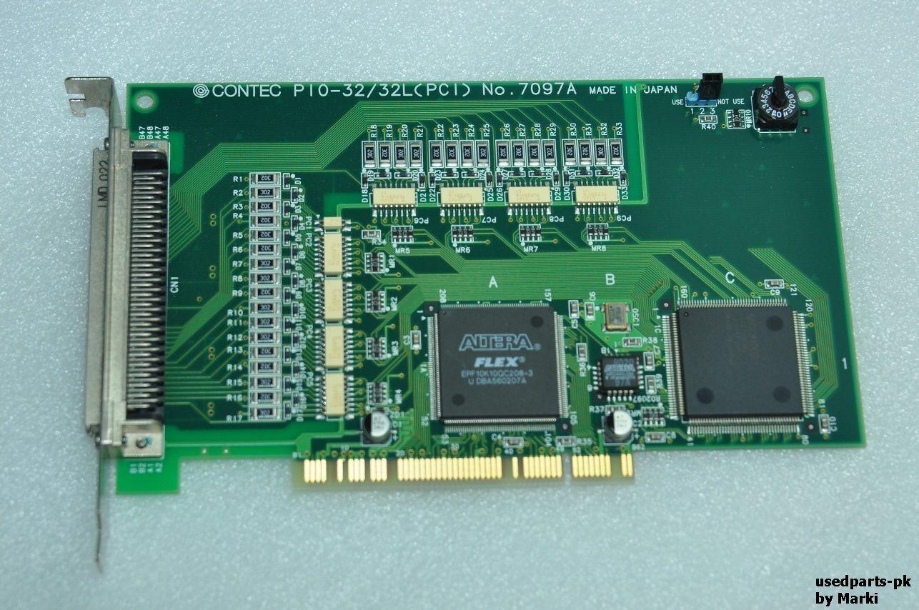 Endüstriyel ekipman kartı CONTEC PIO-32 / 32L PCI İzole Dijital G / Ç Kartı 7097A