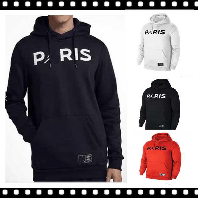 f7d826661b8 2019 Best Jordam X PSG Jacket Hoodie Champions League Survetement Paris 18/19  PSG MBAPPE Football Jackets POGBA Soccer HOODIe From Dhgate_jerseys, ...