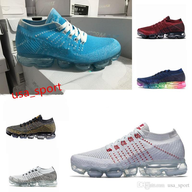 new sale online 2018 Vapormax Mens Running Shoes For Men Sneakers Women Fashion Athletic Sport Shoe Hot Corss Hiking Jogging Walking Outdoor sports Shoes cheap low shipping 0EhkkHhd
