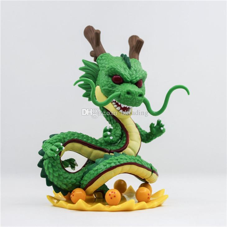 15 cm Funko POP Dragon Ball Z Toprak Ejderha Aksiyon Figürleri Oyuncaklar karikatür 4 renkler Bebek modeli Masaüstü Dekorasyon C4129