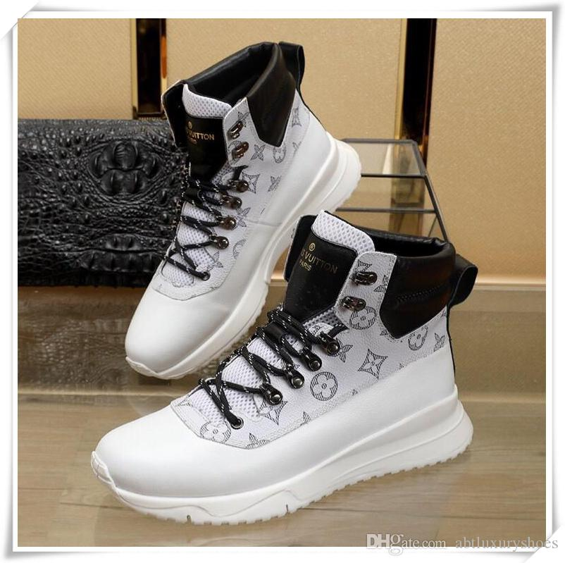 f1bf7d6a554ab7 Mens Shoes Sneakers Running Sport Shoes With Origin Logo France Luxury 2018  Winter Warm High Top Fashion Boots Chaussures Pour Hommes Combat Boots For  Women ...