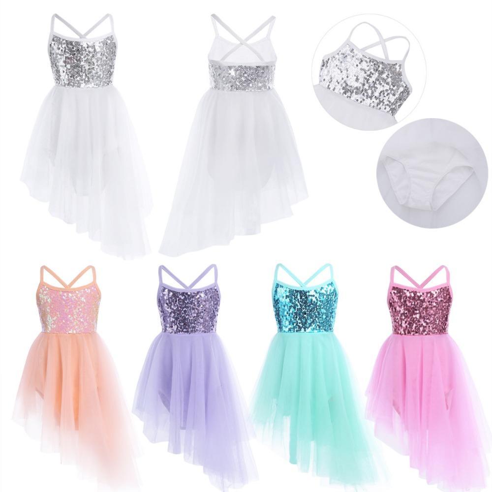 2019 Tutu Costumes 2 12 Year Children S Fancy Costume Cosplay Girls Sequins  Tutu Dress Ballet Dancewear Gymnastics Leotard For Girls Dress From App003 5130ba0c74be