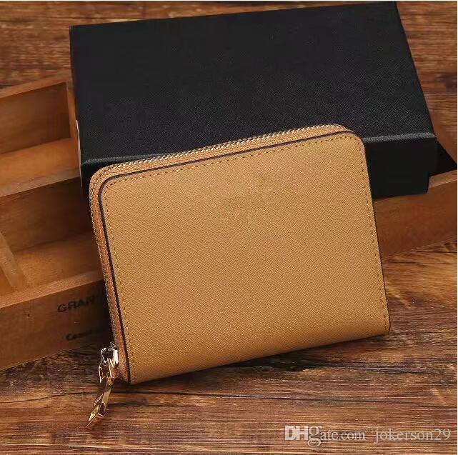 2018 wallets purse Men Wallet New Brand Leather Wallet,Fashion Men Purse Arteira Masculina Short Coin Pocket Men Purse with box