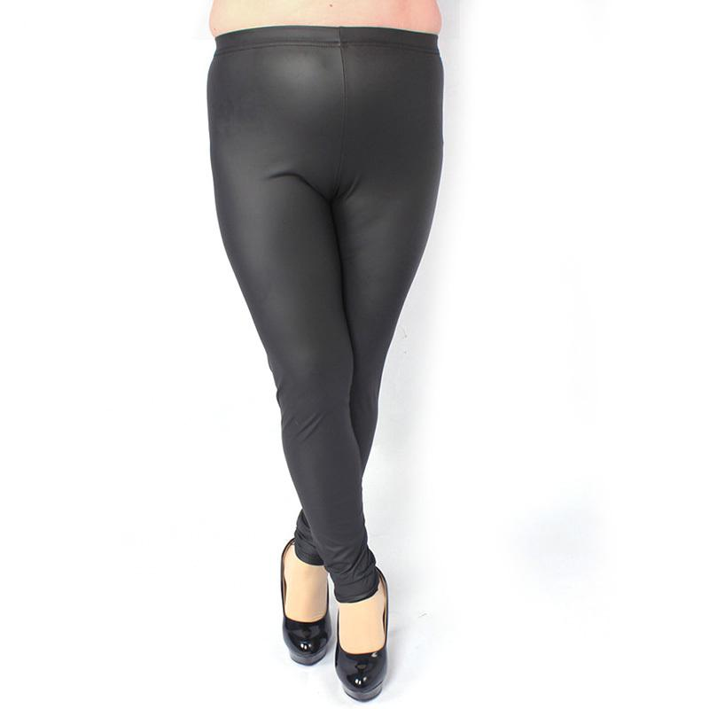 3d8f0ff2c1df4 Sexy Women High Waist Stretch Jeggings Faux Leather Leggings Pants New Plus  Size Online with  29.33 Piece on Jamie22 s Store