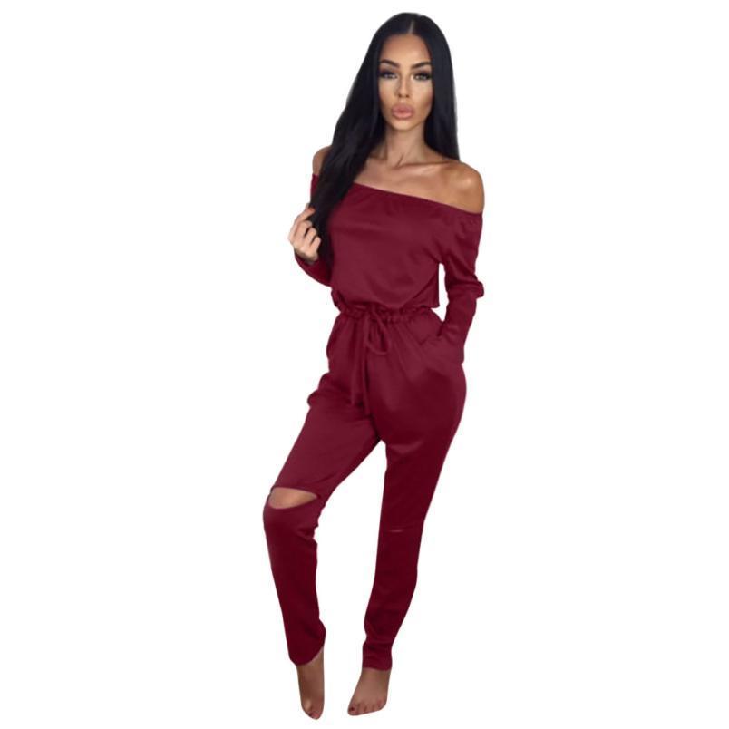 9177a93710 Womail Woman Bodysuit Women Clubwear Playsuit Party Jumpsuit Romper ...