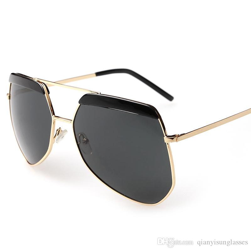 ada90d636b Compre Gafas De Sol Cool De Alta Calidad Para Hombres Y Mujeres Playa Gafas  De Sol Polarizadas De La Rana Del Espejo De La Rana De La Manera De La  Verdadera ...