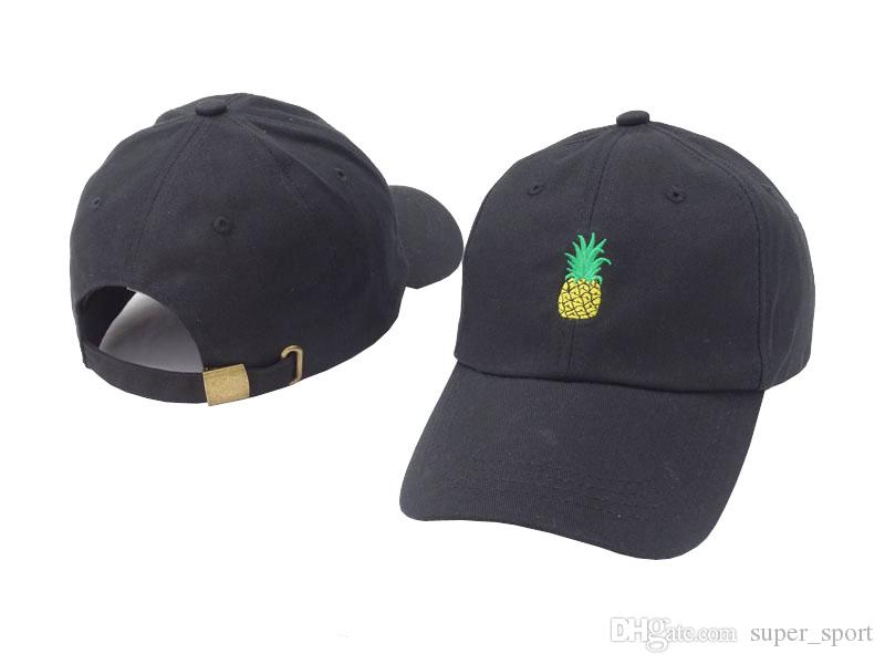 ce2c059fcc0 High Quality New Style Pineapple Bone Designer Curved Visor Casquette Brand  Baseball Cap Women Gorras Dad Hats For Men Hip Hop Snapback Caps Trucker  Caps ...