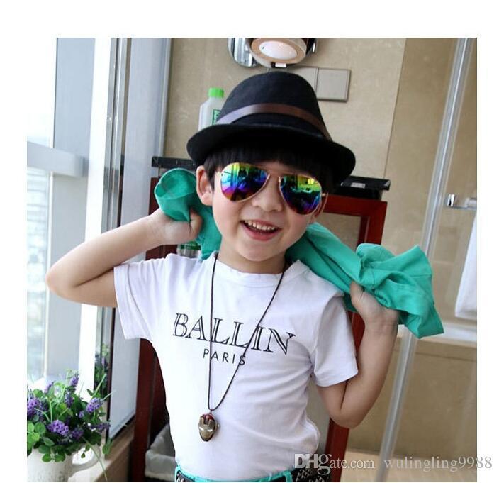 Design Kinder Mädchen Jungen Sonnenbrille Kinder Strandzubehör UV-Schutzbrille Baby Fashion Sonnenschutz Brille 25 Paar