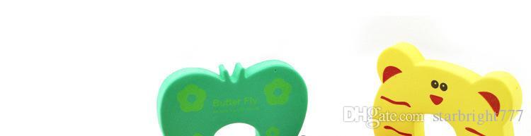 Yeni Bakım Çocuk çocuklar Bebek Hayvan Karikatür Jammers Dur Kapı stopper tutucu kilit Güvenlik Görevlisi Parmak 7 stilleri