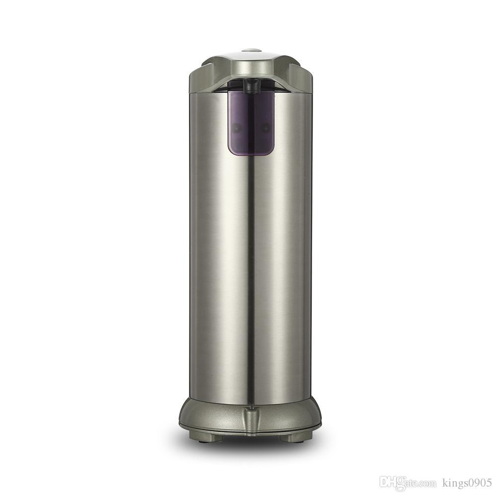 New 280lm Automatic Liquid Soap Dispenser Stainless Steel Sensor ...