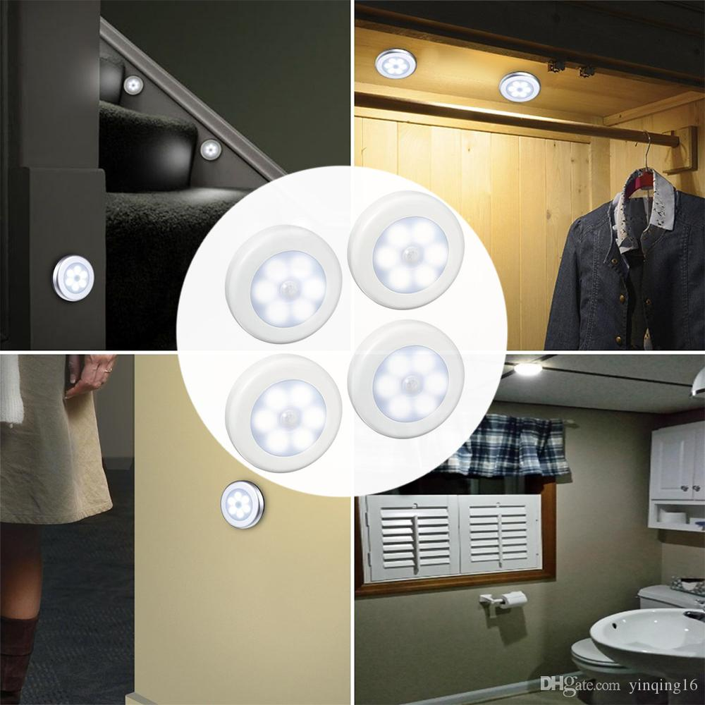 closet lighting battery. Motion Sensor Light, Cordless Battery-Powered LED Night Light,Closet Lights Stair Lights, Safe For Hallway, Bathroom, Bedroom, Etc. Closet Lighting Battery