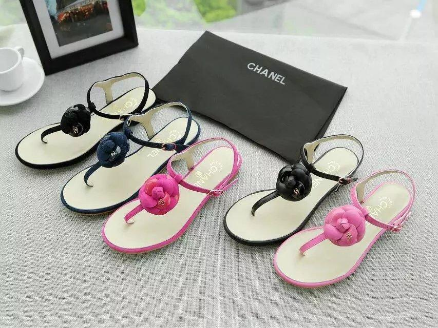 26441024d Top Quality Luxury Letter Flowers Sandals Flat Shoes Lambskin Leather  Fashion Woman Casual Shoes Herringbone Sandals With Box Slippers For Men  Loafer Shoes ...
