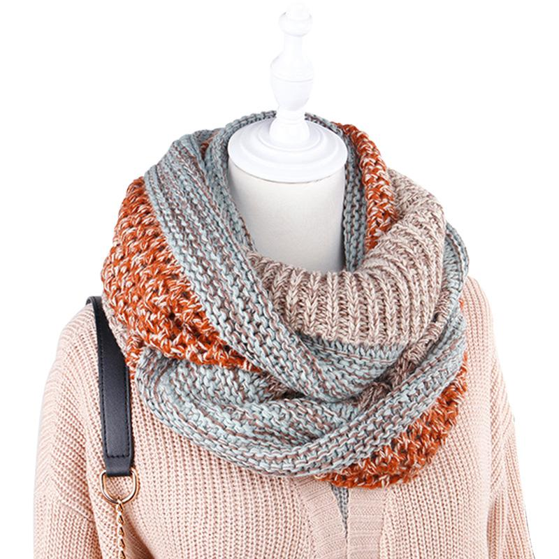 Super Soft Warm Women S Scarf Winter Infinity Circle Cable Knit Cowl