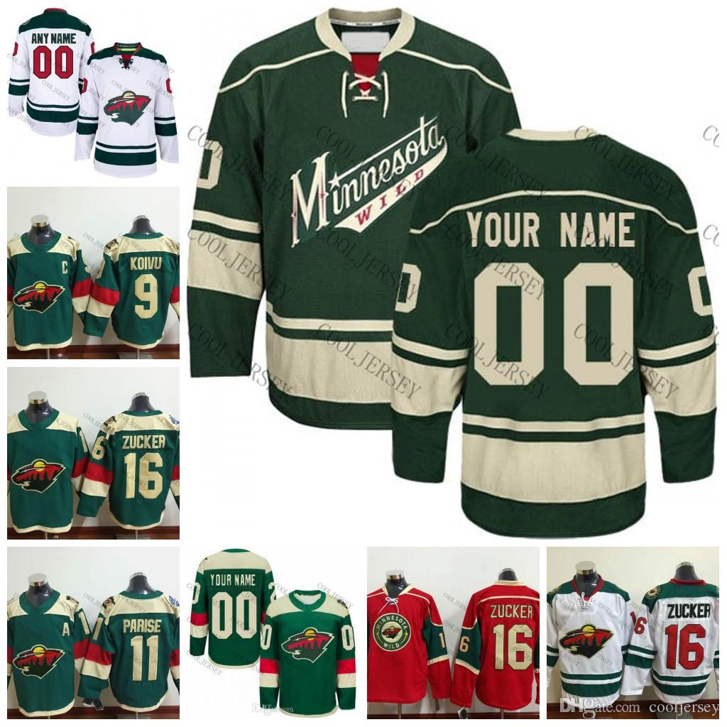 2019 Custom Minnesota Wild 2017 18 OLD BRAND Mens Womens Youth Customized  Personalized Stadium Series Ice Hockey Jerseys White Green Red S 4XL From  ... d418233f4