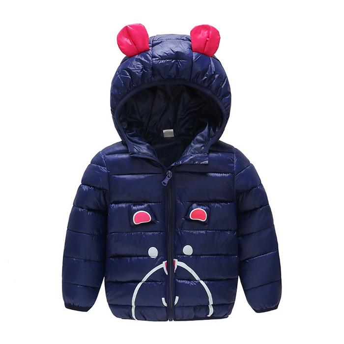 fc16d589d Winter Kids Jacket For Boys Girls Coat Parka Jackets Girls Cotton ...