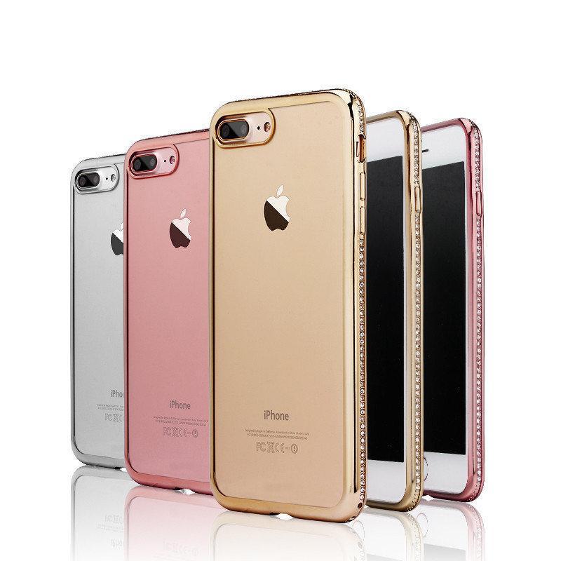 fc9af13b63f78a Coque Mobile Femme Douce Pour Iphone 8 Plus Case Luxe 360 pour Iphone 5s 6  S 7 8 X Plus Case Diamant De Luxe Coque Telephone Portable Proposé Par ...
