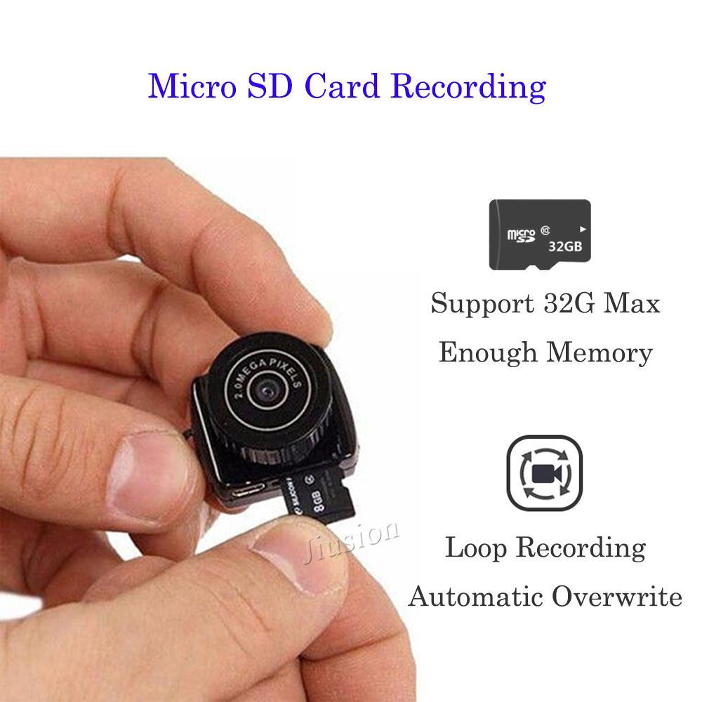 Super Mini Camera 480P Small Portable Pocket DVR Camcorder Secret Nanny Cam  Audio Recorder Small DV Thumb Camera Webcam
