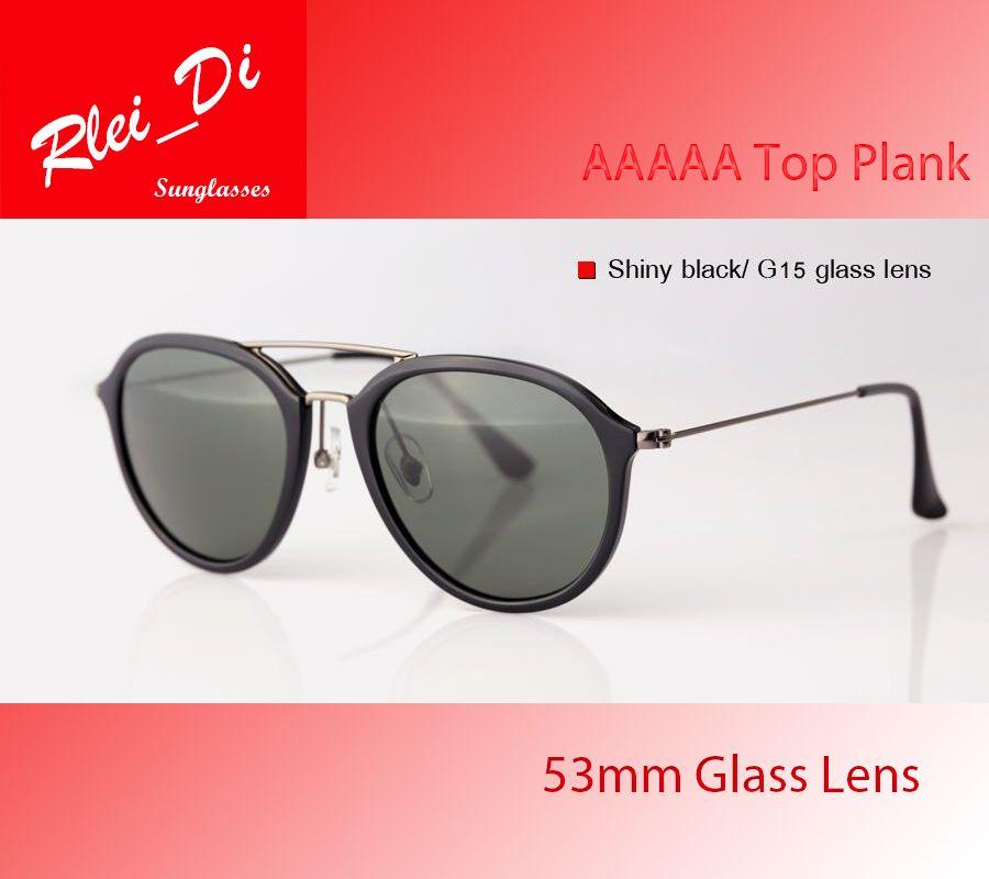 3c5f624d05 AAAAA Round Glass Lens Sunglasses Womens Mens Sunglasses Trend Circle Hinge  Frame UV400 Plank Eyeglasses Fashion 53MM Eyewear With Case Box Victoria  Beckham ...