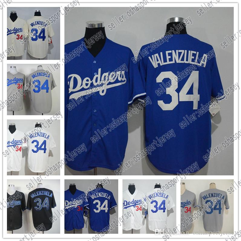 Mitchell And Ness 1981 Mens Los Angeles  34 Fernando Valenzuela ... 62eabde10