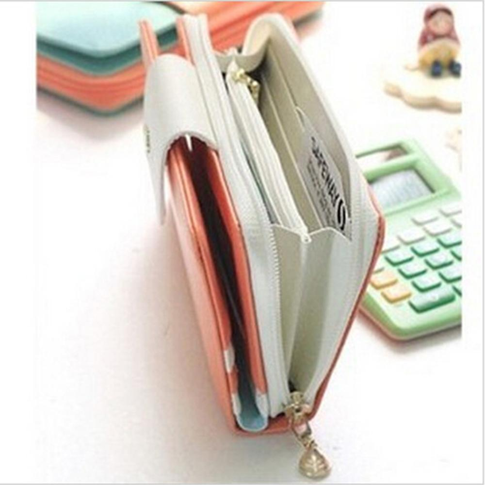 Long Brand Clutch Luxury Ladies Women Wallets Female Purse Bags Money Card Holder Carteras Driving License Cover Walet For Girls