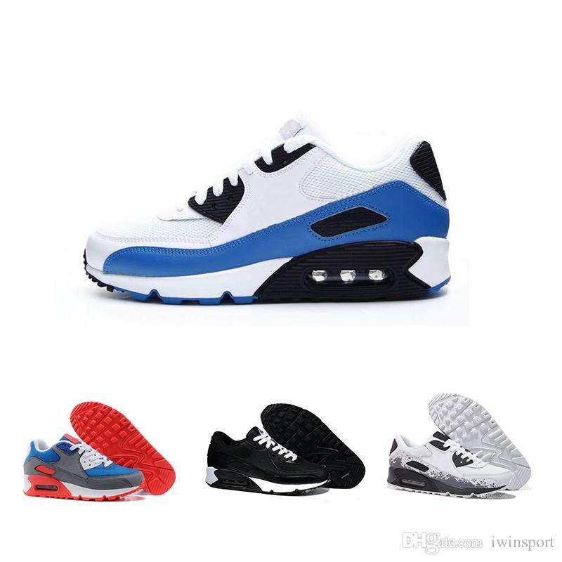 online store 31103 cbd9f Acheter Nike Air Max 90 2019 Abordable Haute Qualité Rembourré 90 Chaussures  Pour Femmes Chaussures Pour Hommes Baskets Baskets Respirant Baskets  Livraison ...