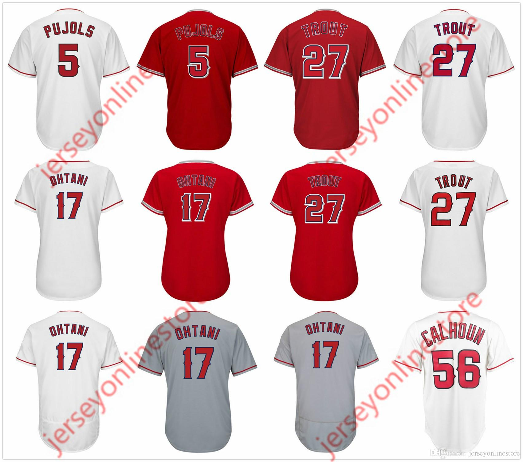 timeless design 688b5 a2046 best price mike trout jersey number 48a0e 43e1b