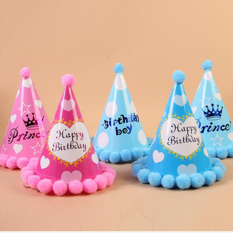 Baby Adult Geburtstag Party Hute Alles Gute Zum Caps Prinzessin Crown Dekorationen Kids Favors Schone Mix Clolrs Stirnband