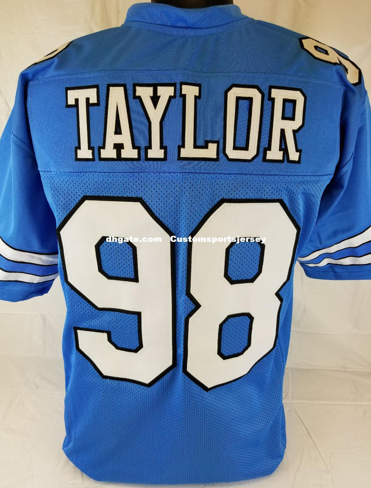 e7c0e9953c0 2019 Cheap Custom Lawrence Taylor Blue College Style Football Jersey  Customized Any Name Number Stitched Jersey XS 5XL From Customsportsjersey
