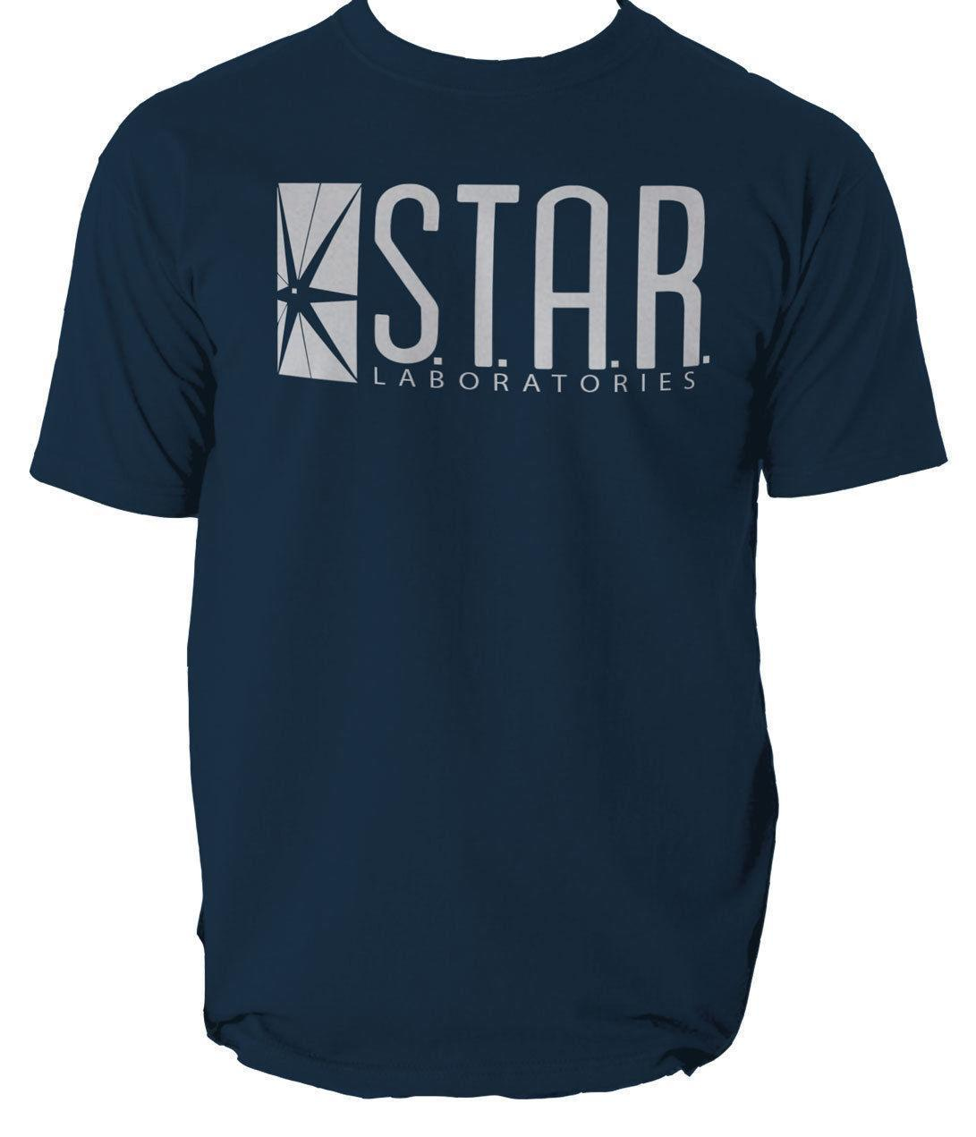 d06ccac59 STAR Laboratories T Shirt Top The Flash Labs S.T.A.R ALL SIZES GIFT  Printable T Shirts T Shrits From Yuxin10, $13.8| DHgate.Com