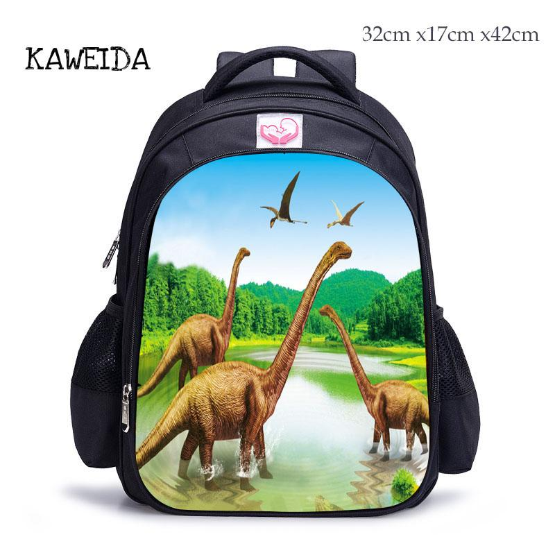 a07367a3e26b Cool Dinosaur Backpack Elementary 3D Kids Schoolbag Cartoon Animal Printed Children S  School Bag For Boys Girls Casual Daypack Wheeled Backpack Small ...