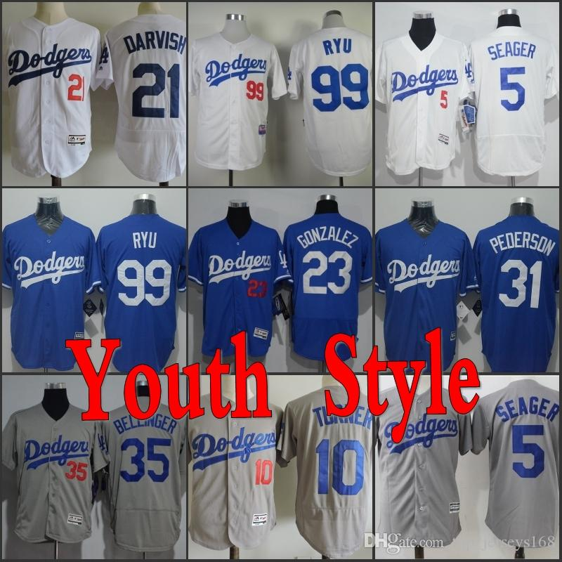 e0ce261e8 ... france dodgers youth jerseys 10 justin turner 5 corey seager 22 clayton  kershaw 21 yu darvish