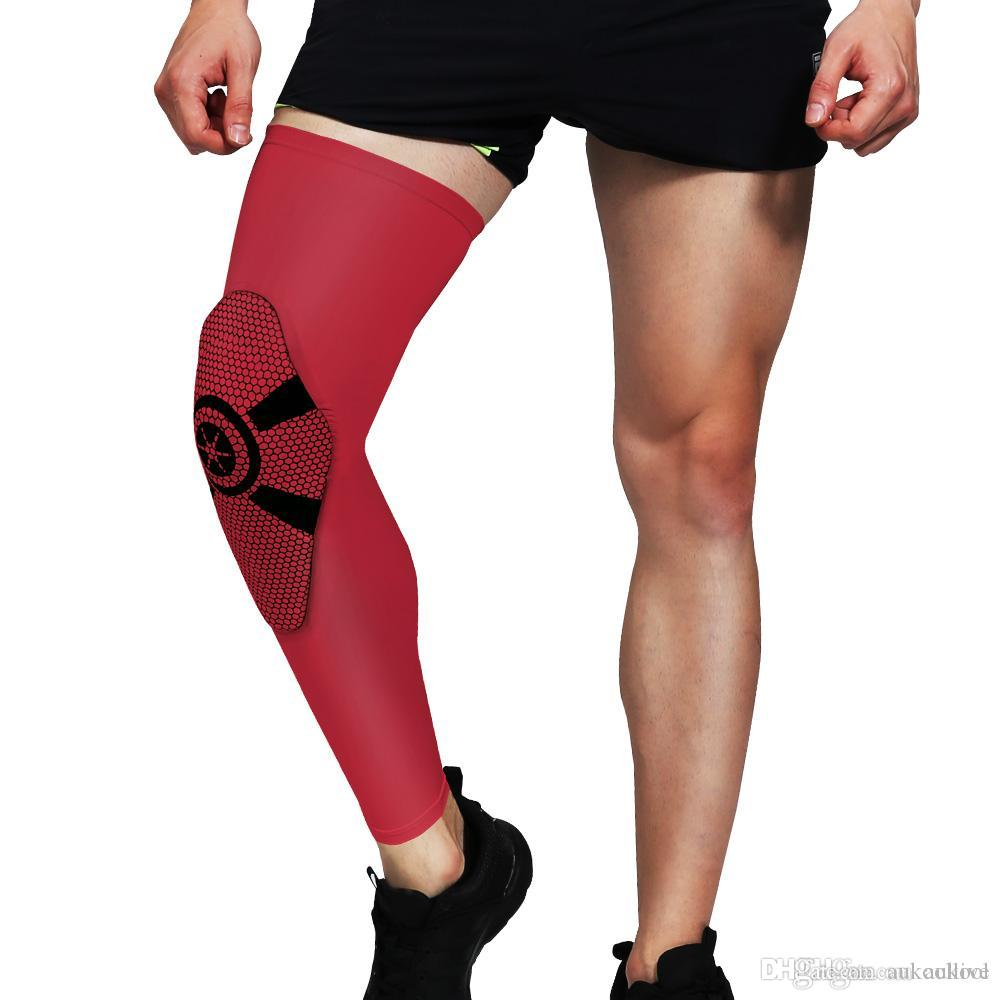 0b39d6c097 2019 New Arrive Professional Leg Sleeve Leg Protection Sports Cover Basketball  Running Volleyball MTB Cycling UV Protection From Aukoollive, $8.98 |  DHgate.