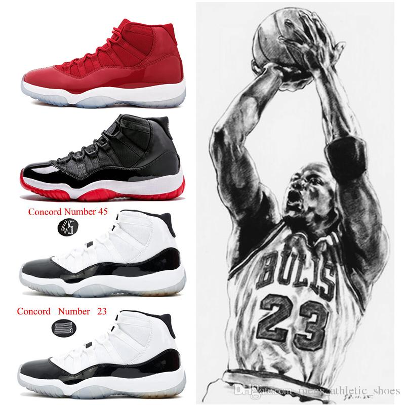 2018 High Quality 11s Women Mens Basketball Shoes Concord 23 45 Win ... dab5bb998