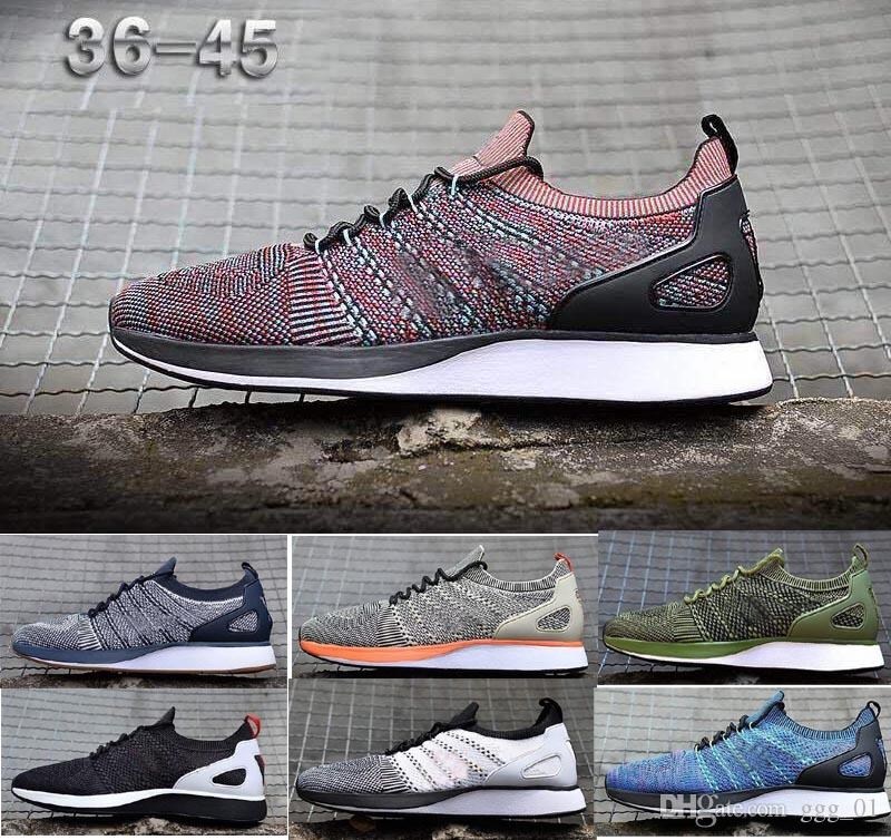 best service 5be30 52681 2019 RACER ZOOM MARIAH 2 Knit NAVY AND GUM BE TURE STRING For MEN S Running  Sneaker Sport AIR Shoes Size US7 US11 Best Running Shoes For Flat Feet  Sports ...