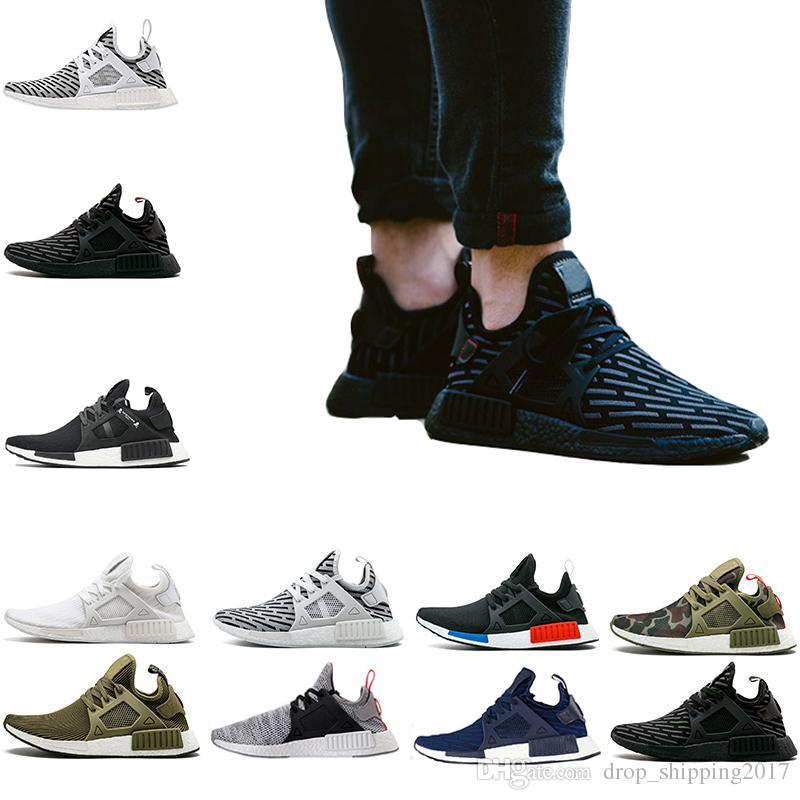 buy popular c6986 11668 Hot Sale Running Shoes Sneaker Run Primeknit for Women   Mens Olive Green  Triple Black Sock Darts Athletic Casual Sports Sneaker Size 36-45 Running  Shoes ...