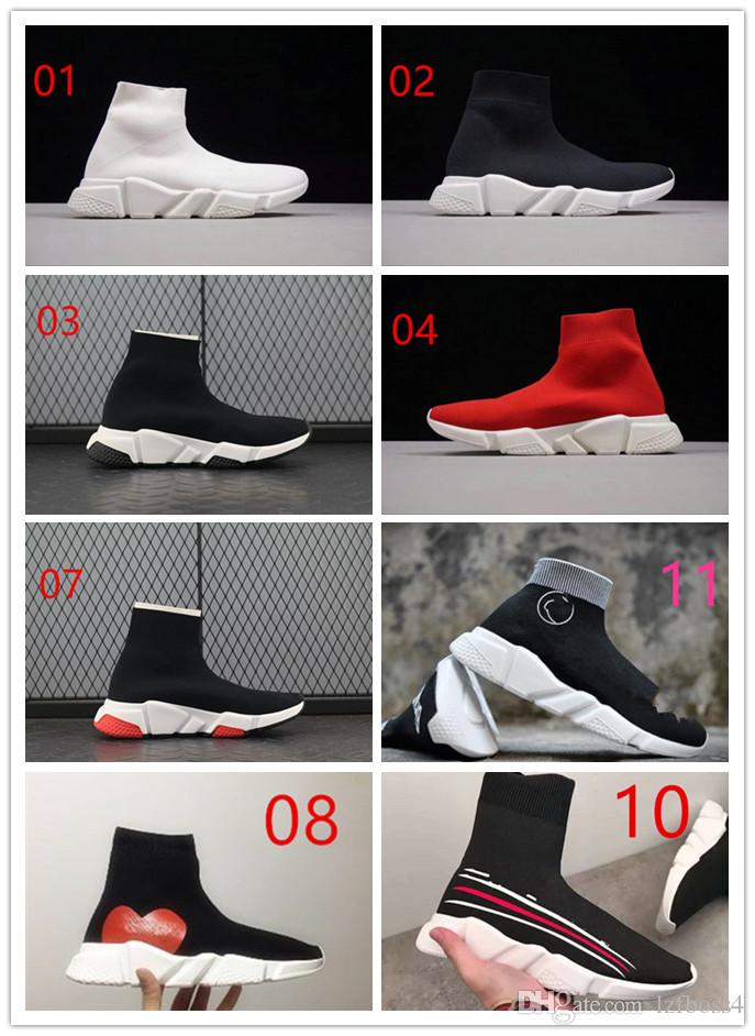 Best New Sneakers 2020 2019 2020 New Sock Shoes BAL*NCI*GA Casual Shoe Speed Trainer High