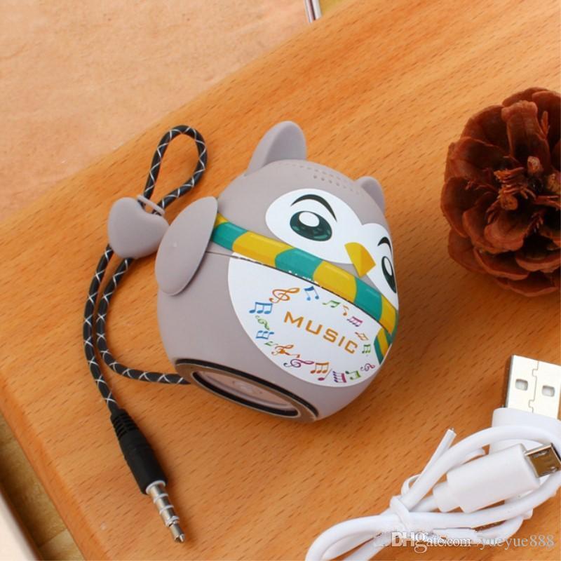 50 pz Cartoon Bluetooth Speaker Cartoon Doll Mini Bluetooth Stereo Subwoofer Supporto TF Card Disco USB Computer Cellulare i