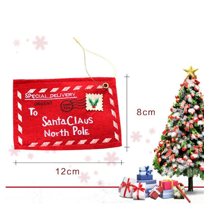 2019 Creative Christmas Decoration Products Christmas Envelope Candy
