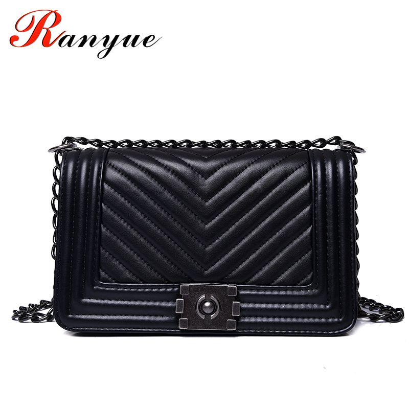 RANYUE Luxury Handbags Women Bags Designer Women Messenger Bags 2018 Summer  Vintage Fashion V Small Chain Crossbody Bag Hot Sale Y18102003 Online with  ... 8dfbe48c5026c