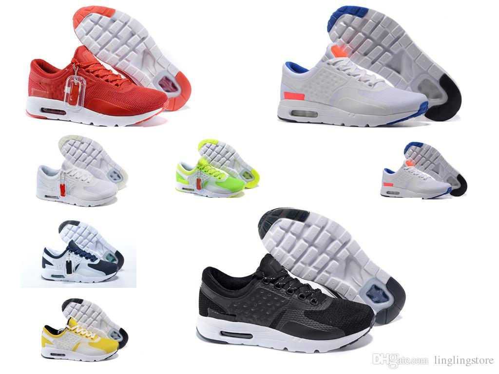 online retailer d2706 def4f Acheter Nike Air Max Zero Essential 87 Trouver Mise À Jour Similaire Mode  Zero 87 2 Chaussures De Course Pour Hommes, Top Qualité Respirant Athletic  Sport ...